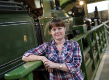 CURATOR: Head of Steam museum curator Leona White-Hannant. Picture: TOM BANKS