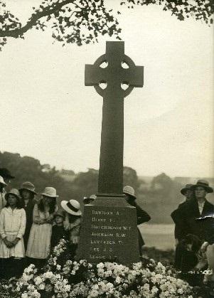 IN MEMORY: Bishop Middleham war memorial dedication service in 1921