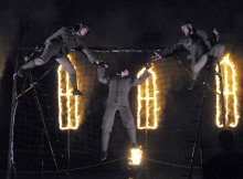 POIGNANT DRAMA: Image from Homecoming when it was performed in Stockton earlier this year
