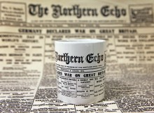 ECHO SOUVENIR: The mug and tea towel being offered by the Echo for £5.99 for the pair