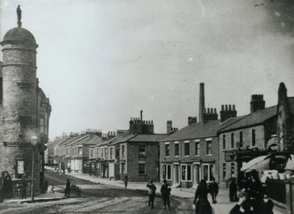 HOME STREET: This is the start of High Northgate, Darlington. Although the house numbers have changed unrecognisably today, the Parks' home of No 11 is probably in view.