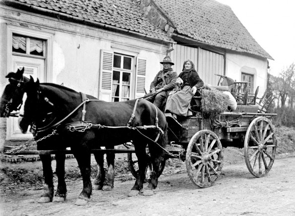RURAL: The village of Bus Les Artois during the First Wold War