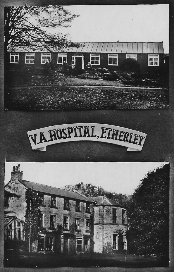 Tom Hutchinson's postcard of The Red House, Etherley