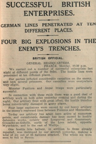 The Northern Echo, June 27, 1916
