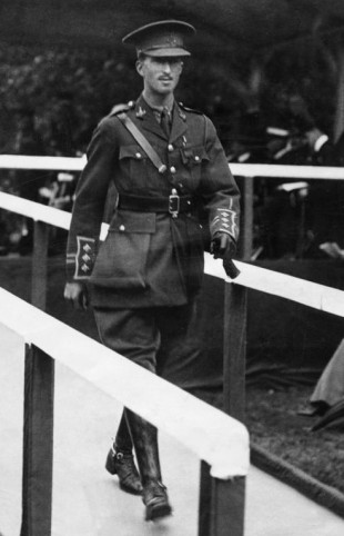 Archie White after receiving his VC from the King at Hyde Park in 1917