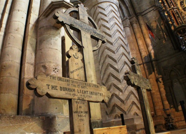 The Butte crosses in Durham Cathedral were reunited earlier this year after 90 years apart