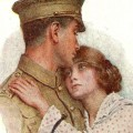 First World War postcards, from Abe Stewart to his wife, Eva, in