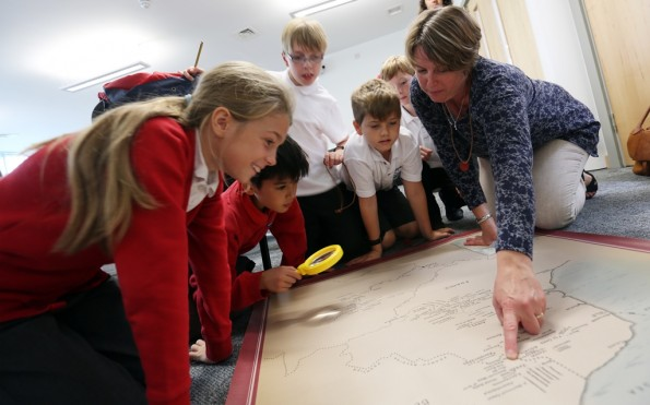 A school visit to the DLI Collection housed at Sevenhills in Spennymoor