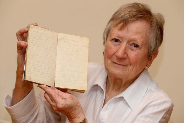 Isabel Field, of Langley Moor, with her uncle George's diary