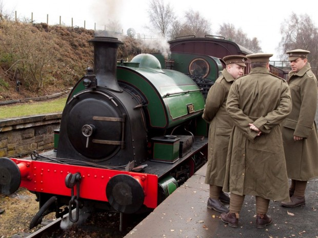 FRONT LINE: Tanfield Railway to stage First World War re-enactments this weekend