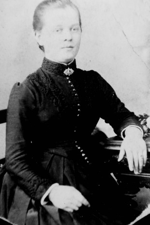 EARLY DEATH: Isabella James, George's mother, who died following childbirth when she was 32