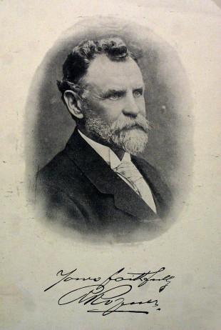 FOUNDING FATHER: Sir Robert Ropner, founder of 'Ropner's little Navy'