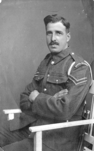 Private James Ballantyne Donald of the Scots Guards