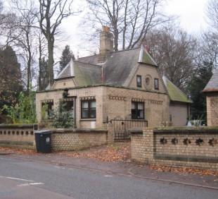 NOTHING CHANGES: Hummersknott Lodge still stands today very close to West Cemetery