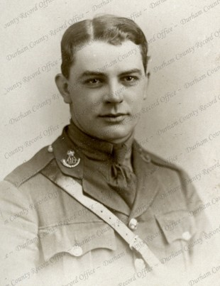 HIS STORY: Lt TM Fletcher, who was killed at the Battle of Passchendaele. Picture courtesy of the Durham County Record Office D/DLI 2/20/5(74)