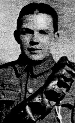 Gunner George James of Littletown, near Durham City