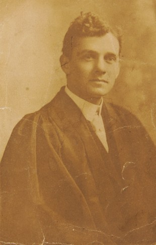 REMEMBERED: George McKean VC in his university days in Canada