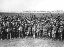 HUGE LOSSES: Members of the 4th Regiment Green Howards Credit: Green Howards Museum