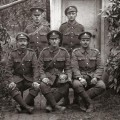 UNKNOWN SOLDIERS: Some of the pictures of mystery DLI soldiers taken during the Battle of the Somme. Photograph courtesy of John Lichfield, Alfred Dupire, Bernard Gardin, Dominique Zanardi and Joel Scribe