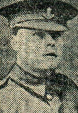 LETTER: Corporal Wilf Barker, who was wounded during the attack