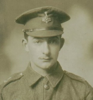 KILLED: Private Henry Johnson, who was the only member of the First World War effort from the hamlet of Hilton not to return home.