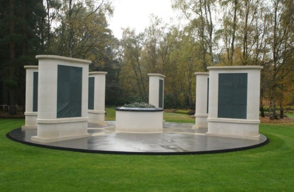 REMEMBRANCE: The memorial at Brookwood