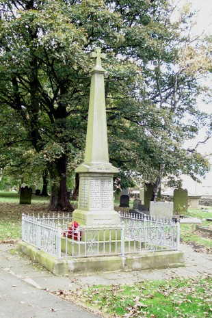 LISTED: Kirk Merrington War Memorial as among more than 50 in the region to get official status on advice from Historic England