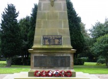 REMEMBERED: Pelton Fell Cenotaph and Memorial Gates have been listed as part of Historic England's pledge to add 2,500 to the register by 2018