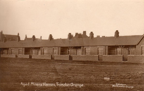 COLLIERS' HOMES: The aged miners' homes in Galbraith Terrace, Trimdon Grange, which was presumably named after Samuel Galbraith, an Irishman who was elected as a Liberal to Durham County Council in 1888 and then as MP for Mid-Durham (1915) and Spennymoor (1918). The homes still stand today.