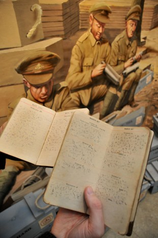SHORTHAND SECRETS: The decoded diaries of Wass Reader of the 1st East Riding Yeomanry C Squadron, at York's Castle Museum