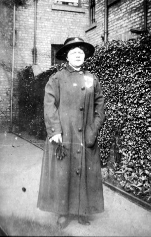 LOCAL CONNECTION: Nurse Lillian Donald, during the war, probably in Greenbank Road