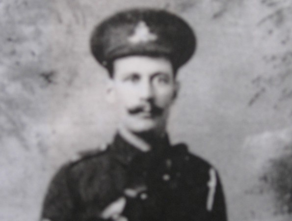 BROTHERS IN ARMS: John Hind