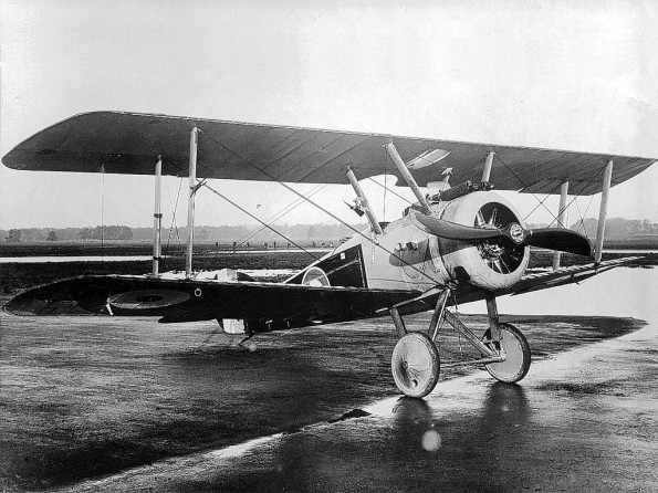 BRITISH CRAFT: A Sopwith Camel, as flown by Capt Arthur Brown