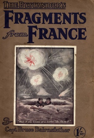 """COVER STORY: Captain Bruce Bairnsfather's cartoon magazine Fragments from France, featuring his most famous skit: """"Well, if you knows a better 'ole, go to it'. Memories 168 told of Private William Bailey, from Thornaby, who lost a leg on the Somme. Perhaps he was aware of this Bairnsfatheresque postcard, which is now in Tom Stafford's collection"""