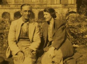 SAVED: Wilfred Smith and his wife, Hannah, in the grounds of The