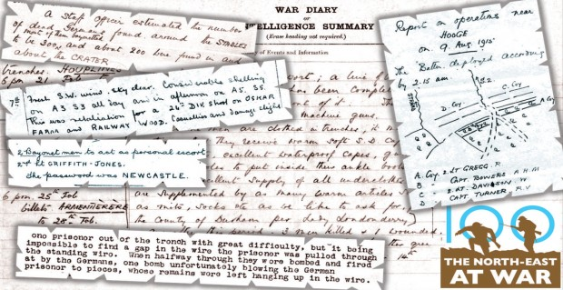 FIRST-HAND ACCOUNT: Pages from diaries of the First World War kept by soldiers of the 2nd Battalion Durham Light Infantry