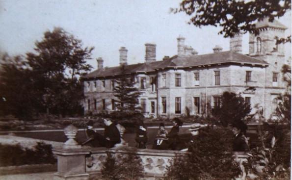 GONE BUT NOT FORGOTTEN: The Woodside mansion was demolished in the 1920s